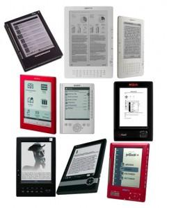 variedad de libros electronicos