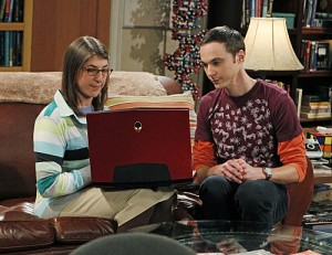 alienware en big bang theory