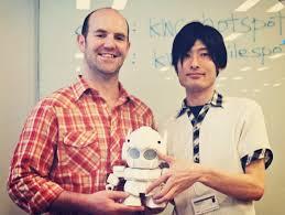 foto robot humanoide