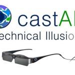 castAR, las gafas de realidad aumentada de Technical illusions