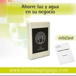 Infocard, para ahorrar agua y electricidad