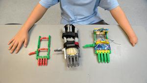 manos robóticas 3d