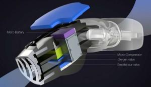 Triton Oxygen Mask nano filtros