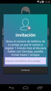 recompensas al invitar amigos en ZeroApp