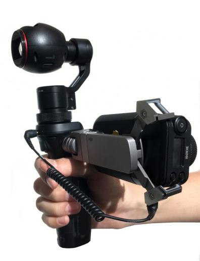 Dji osmo-X3 videocamara